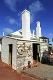 Pueblo fantasma de Gwalia Fotos de archivo libres de regalías