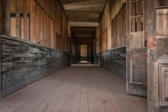 Pueblo fantasma de Humberstone, desierto de Atacama, Chile Foto de archivo libre de regalías
