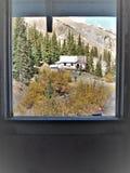 Pueblo fantasma de Idarado cerca de Silverton, Colorado fotos de archivo