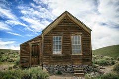 Pueblo fantasma de la explotación minera de Bodie California Imágenes de archivo libres de regalías