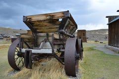 Pueblo fantasma de la fiebre del oro - Bodie California Fotografía de archivo libre de regalías