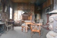 Pueblo fantasma de la fiebre del oro - Bodie California Imagen de archivo libre de regalías