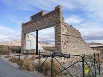 Pueblo fantasma de la riolita Foto de archivo libre de regalías