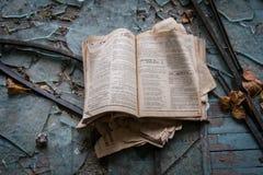 Pueblo fantasma de Pripyat en la Ucrania Fotografía de archivo libre de regalías