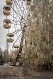 Pueblo fantasma de Pripyat en la Ucrania Imagenes de archivo