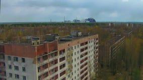 """Pueblo fantasma del †de Pripyat """"cerca de Chernóbil metrajes"""