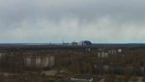 "Pueblo fantasma del †de Pripyat ""cerca de Chernóbil almacen de video"