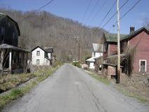 Pueblo fantasma del campo del carbón fotos de archivo libres de regalías