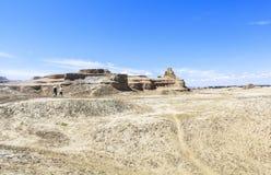 Pueblo fantasma del mundo en Xinjiang Imagen de archivo libre de regalías
