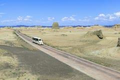 Pueblo fantasma del mundo en Xinjiang Fotografía de archivo libre de regalías