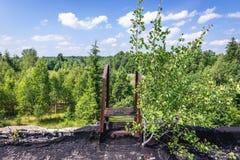 Pueblo fantasma en Letonia Imagen de archivo