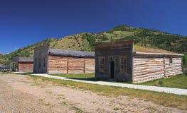 Pueblo fantasma, Montana Imágenes de archivo libres de regalías