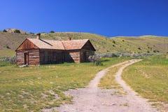 Pueblo fantasma, Montana Fotos de archivo libres de regalías