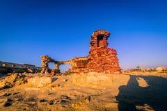Pueblo fantasma - Rameshwaram, la India Imagenes de archivo