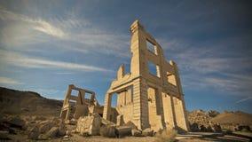 Pueblo fantasma Timelapse de la riolita metrajes