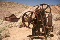 Pueblo fantasma viejo de la explotación minera Imagen de archivo
