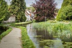 Pueblo flojo, Kent, Reino Unido imagenes de archivo