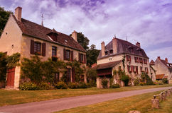 Pueblo francés típico fotos de archivo libres de regalías
