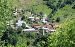 Pueblo georgiano Fotos de archivo