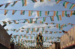Pueblo global en Dubai, UAE fotos de archivo libres de regalías