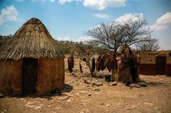 Pueblo Himba Fotografía de archivo libre de regalías