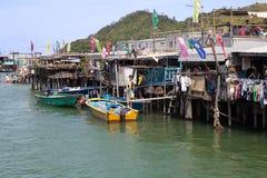 Pueblo histórico en Lantau Imagenes de archivo