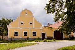 Pueblo Holasovice de la UNESCO fotografía de archivo libre de regalías