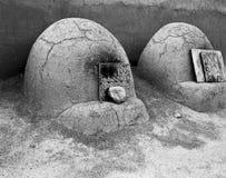 Pueblo Hornos Ovens Stock Photography