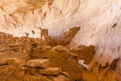 Pueblo III Era Ruins at 17 Room House Royalty Free Stock Image