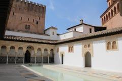 Pueblo intérieur Espanol Photographie stock libre de droits
