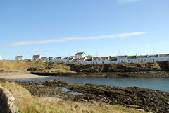 Pueblo Islay Escocia de Portnahaven Imagenes de archivo