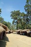 Pueblo largo de la tribu del cuello fotografía de archivo