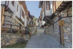 Pueblo macedónico 24 Imagen de archivo libre de regalías