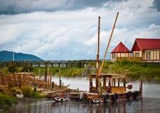 Pueblo maorí Imagen de archivo libre de regalías