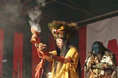 Pueblo maya de Xcaret Fotografía de archivo