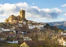 Pueblo medieval Fotografía de archivo