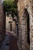 Pueblo medieval de Eze en Francia Imagen de archivo