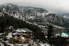 Pueblo nevado Himalayan Imágenes de archivo libres de regalías