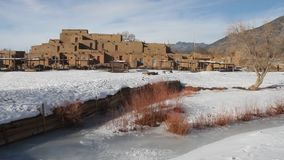 Pueblo New Mexico stock footage