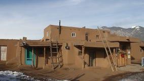 Pueblo New Mexico stock video