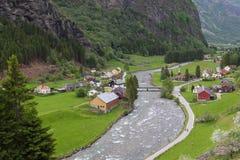 Pueblo, Noruega Imágenes de archivo libres de regalías