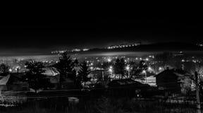 Pueblo oscuro Imagen de archivo