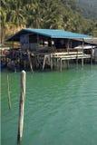 Pueblo pesquero  imagen de archivo