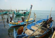 Pueblo pesquero  Foto de archivo