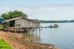 Pueblo pesquero Fotos de archivo