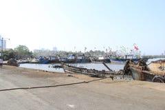 Pueblo pesquero Fotografía de archivo