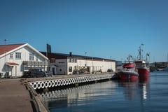Pueblo pesquero de Göteborg, Suecia Imagen de archivo