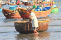 Pueblo pesquero del ne de Vietnam Mui Foto de archivo