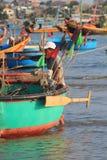 Pueblo pesquero del ne de Vietnam Mui Fotos de archivo