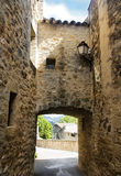 Pueblo pintoresco en la región de Luberon, Francia Foto de archivo